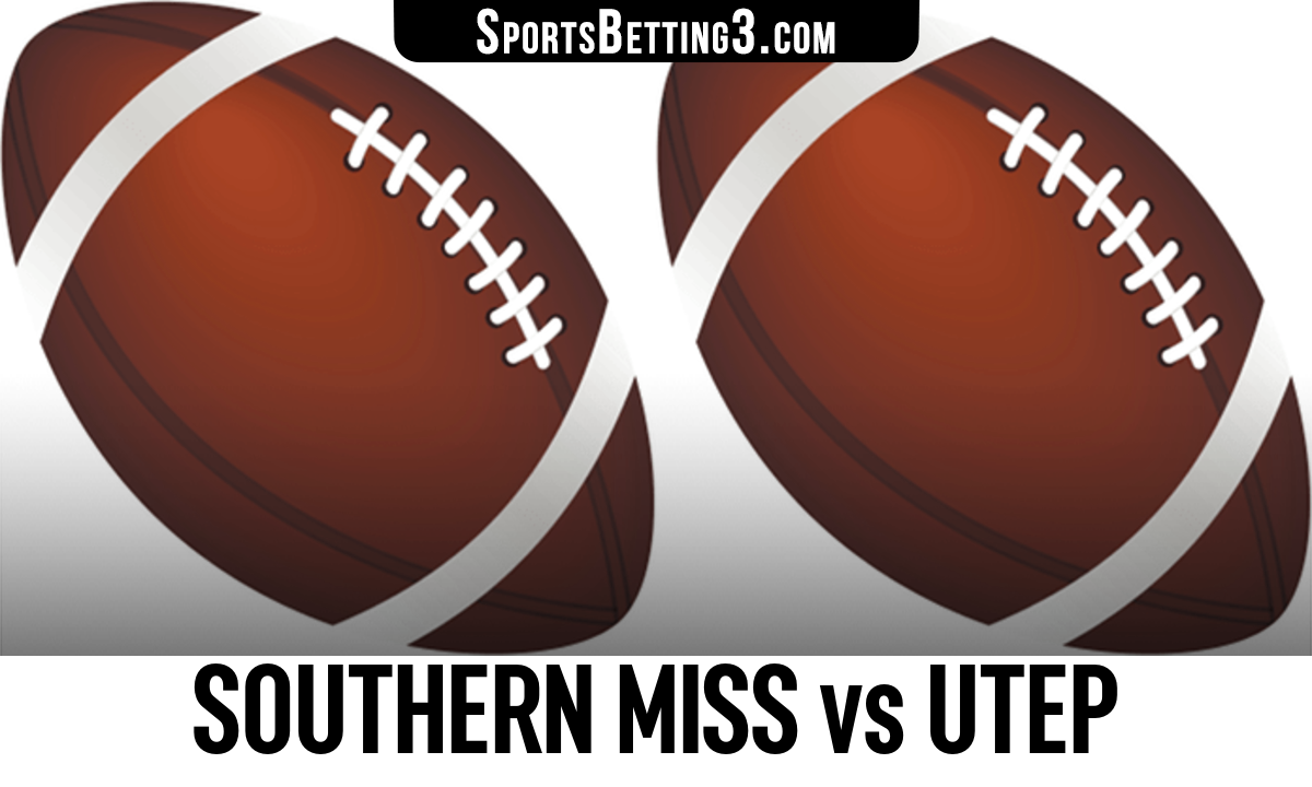 Southern Miss vs UTEP Betting Odds