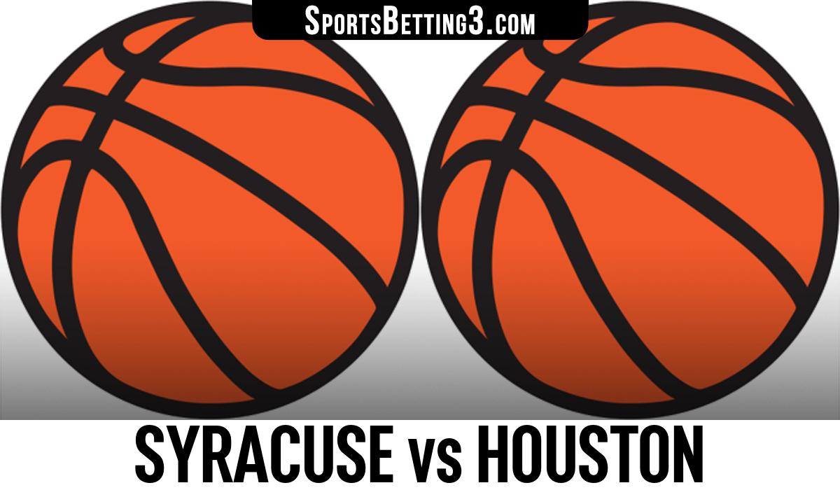 Syracuse vs Houston Betting Odds