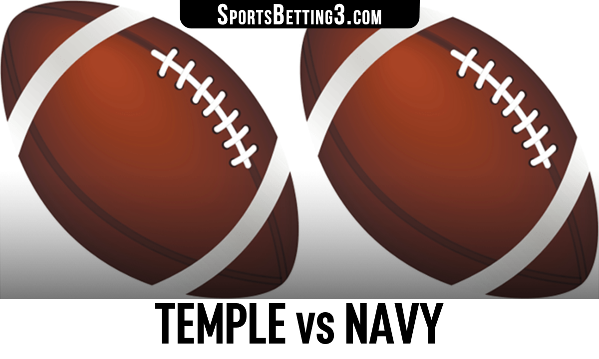 Temple vs Navy Betting Odds