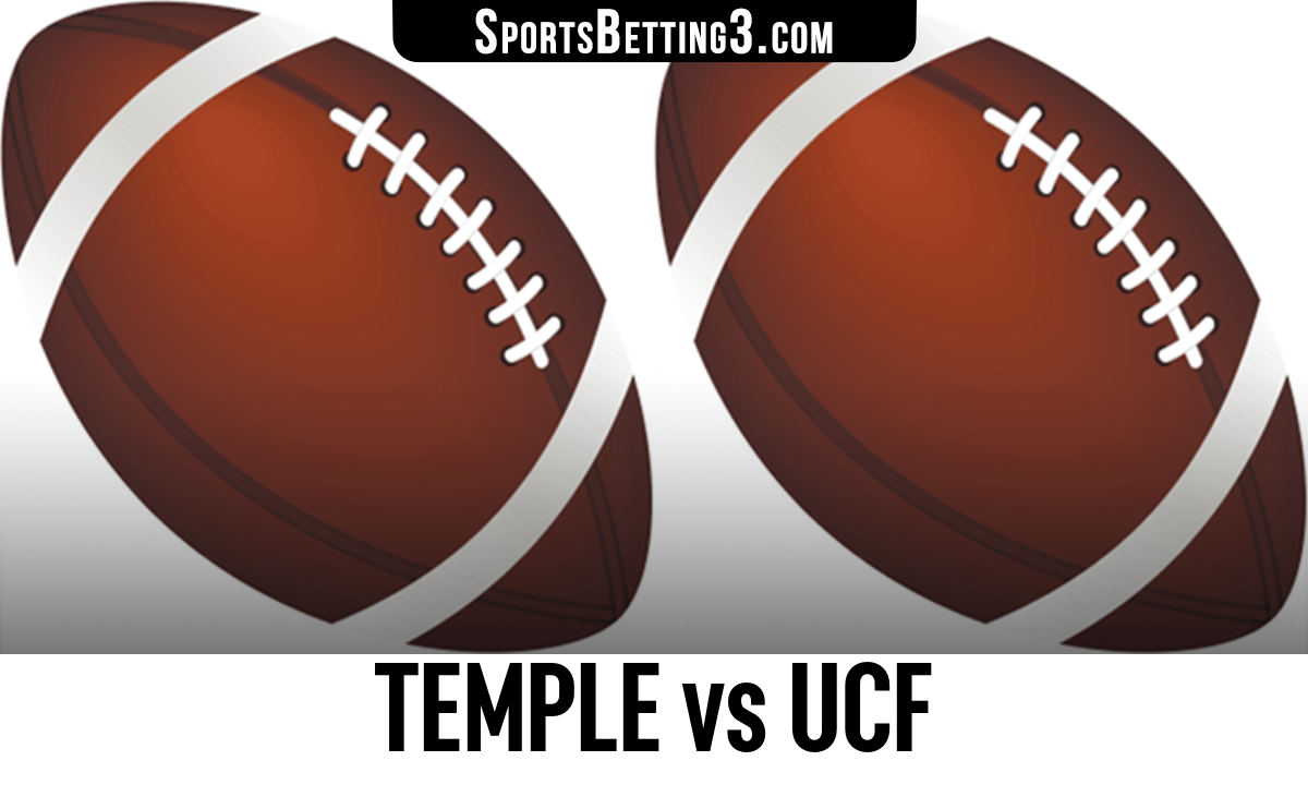 Temple vs UCF Betting Odds
