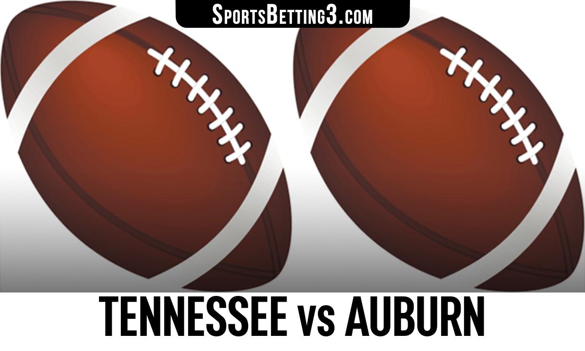 Tennessee vs Auburn Betting Odds