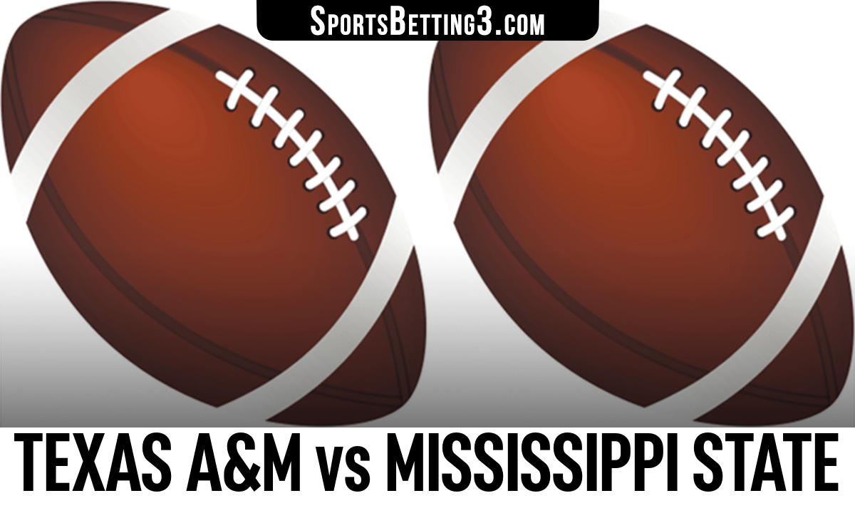 Texas A&M vs Mississippi State Betting Odds