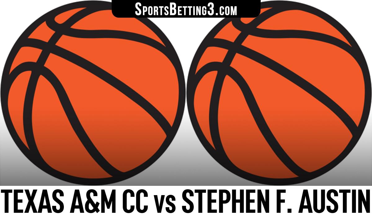 Texas A&M CC vs Stephen F. Austin Betting Odds