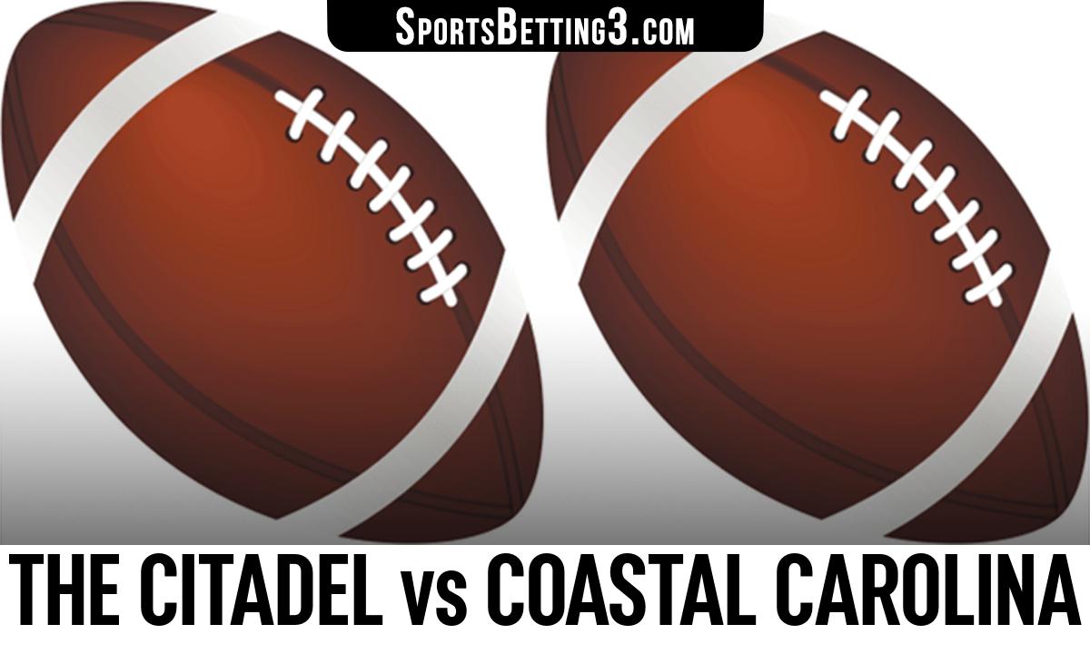 The Citadel vs Coastal Carolina Betting Odds