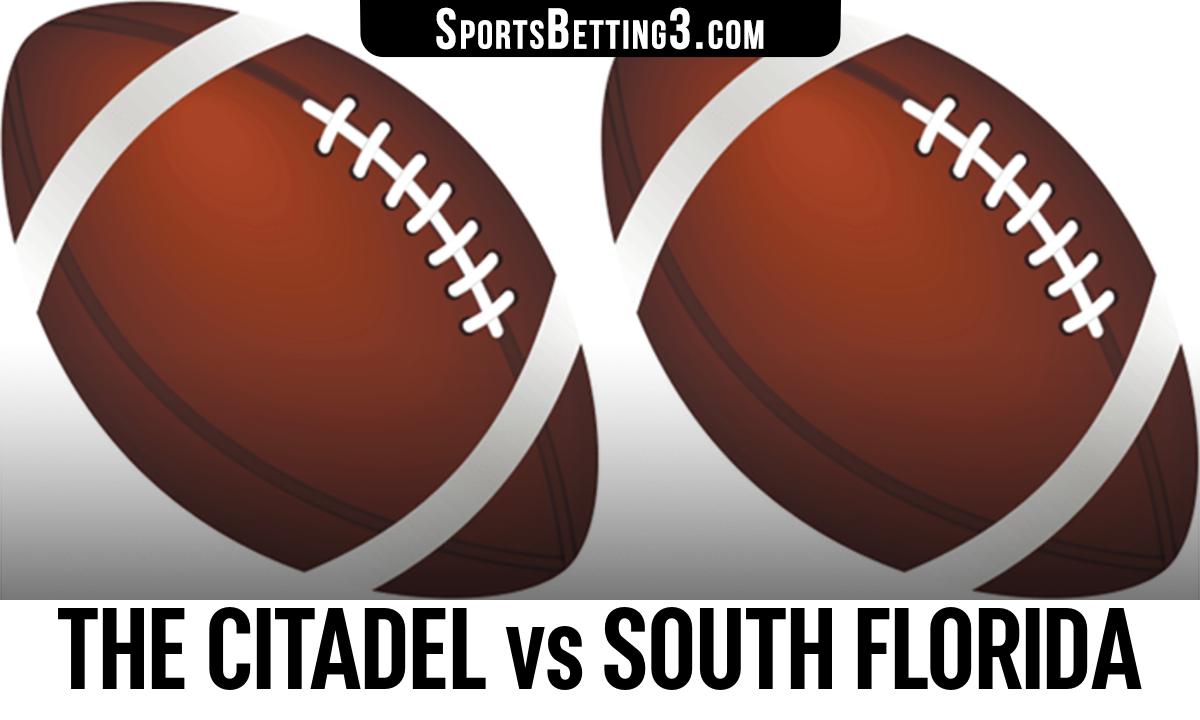 The Citadel vs South Florida Betting Odds