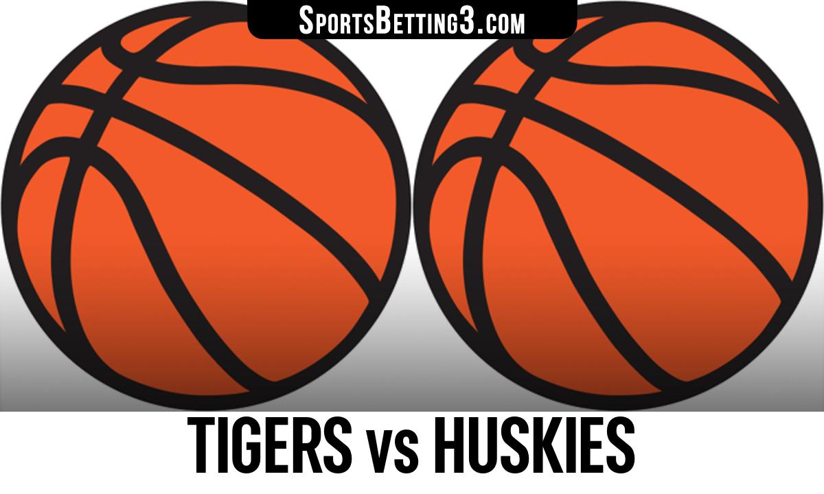 Tigers vs Huskies Betting Odds