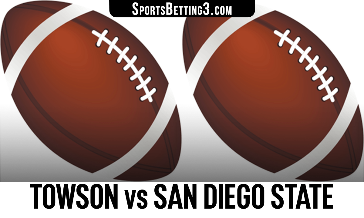 Towson vs San Diego State Betting Odds