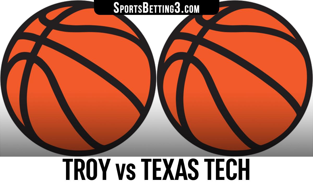 Troy vs Texas Tech Betting Odds