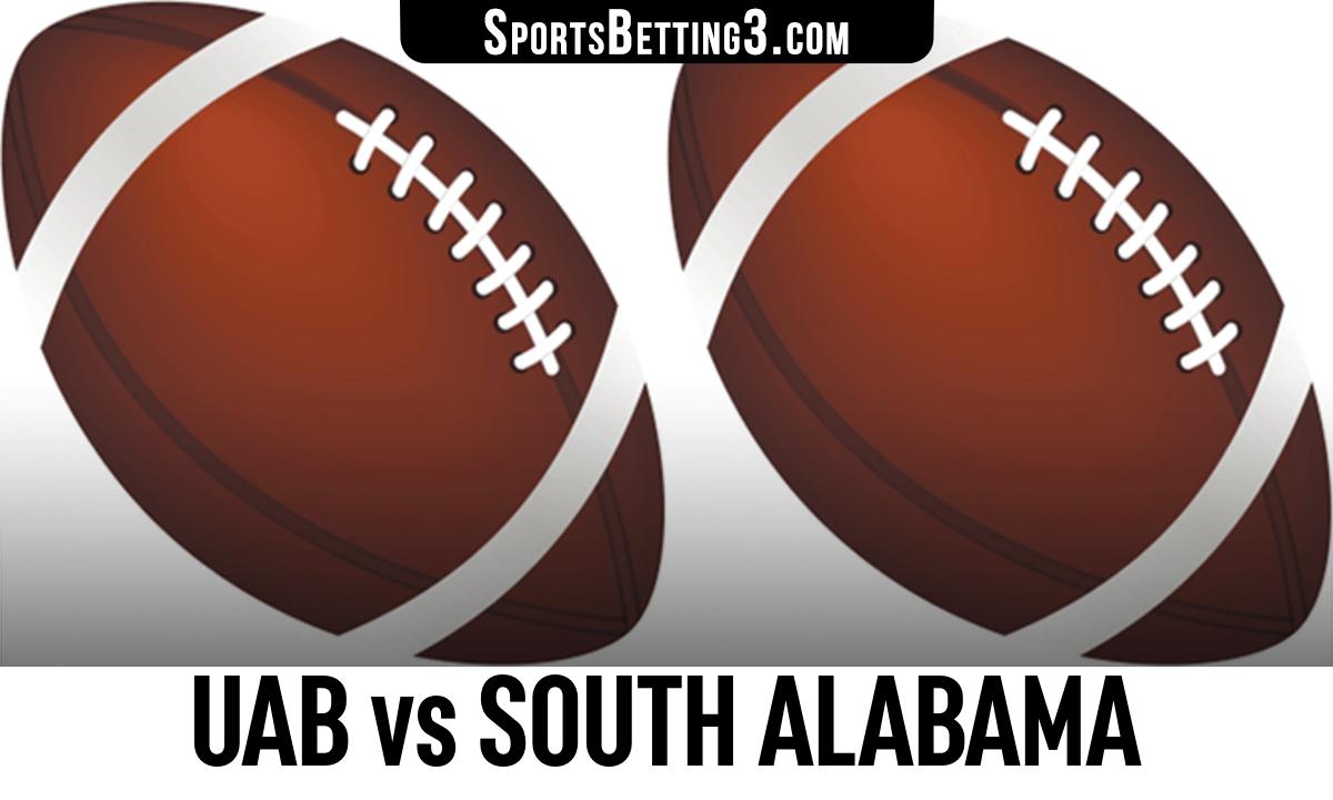 UAB vs South Alabama Betting Odds