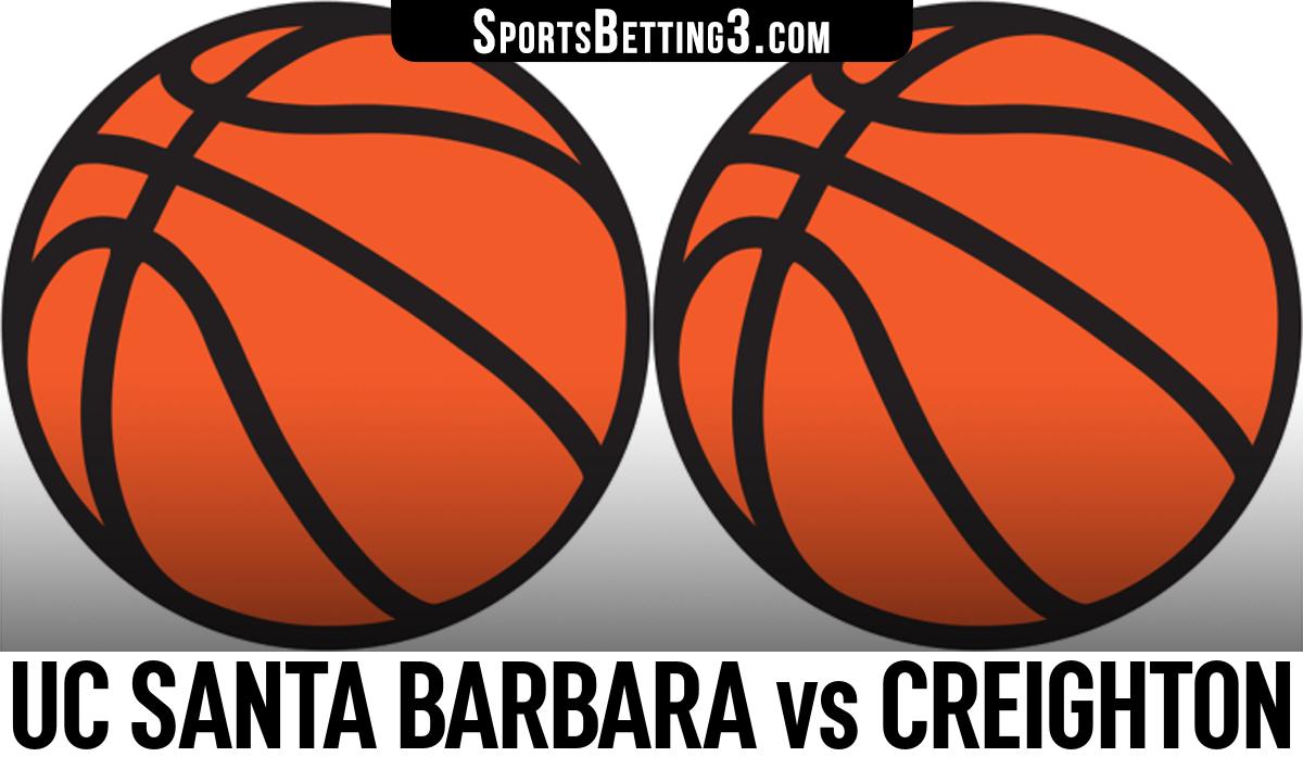 UC Santa Barbara vs Creighton Betting Odds