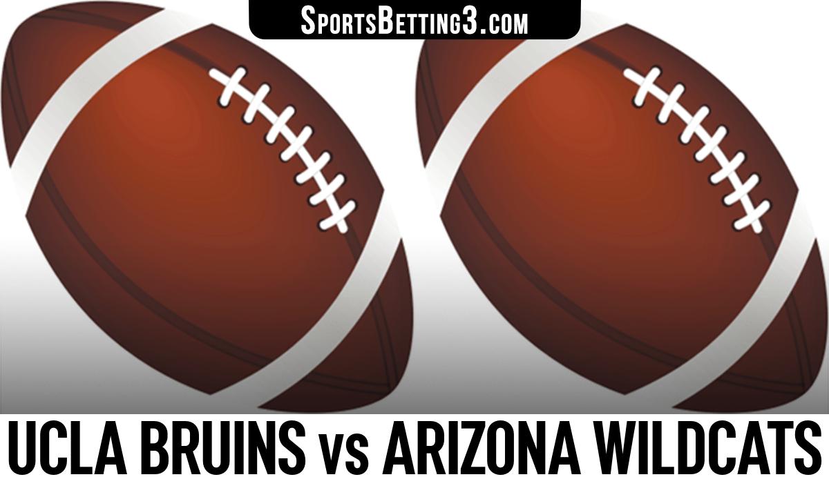 UCLA Bruins vs Arizona Wildcats Betting Odds