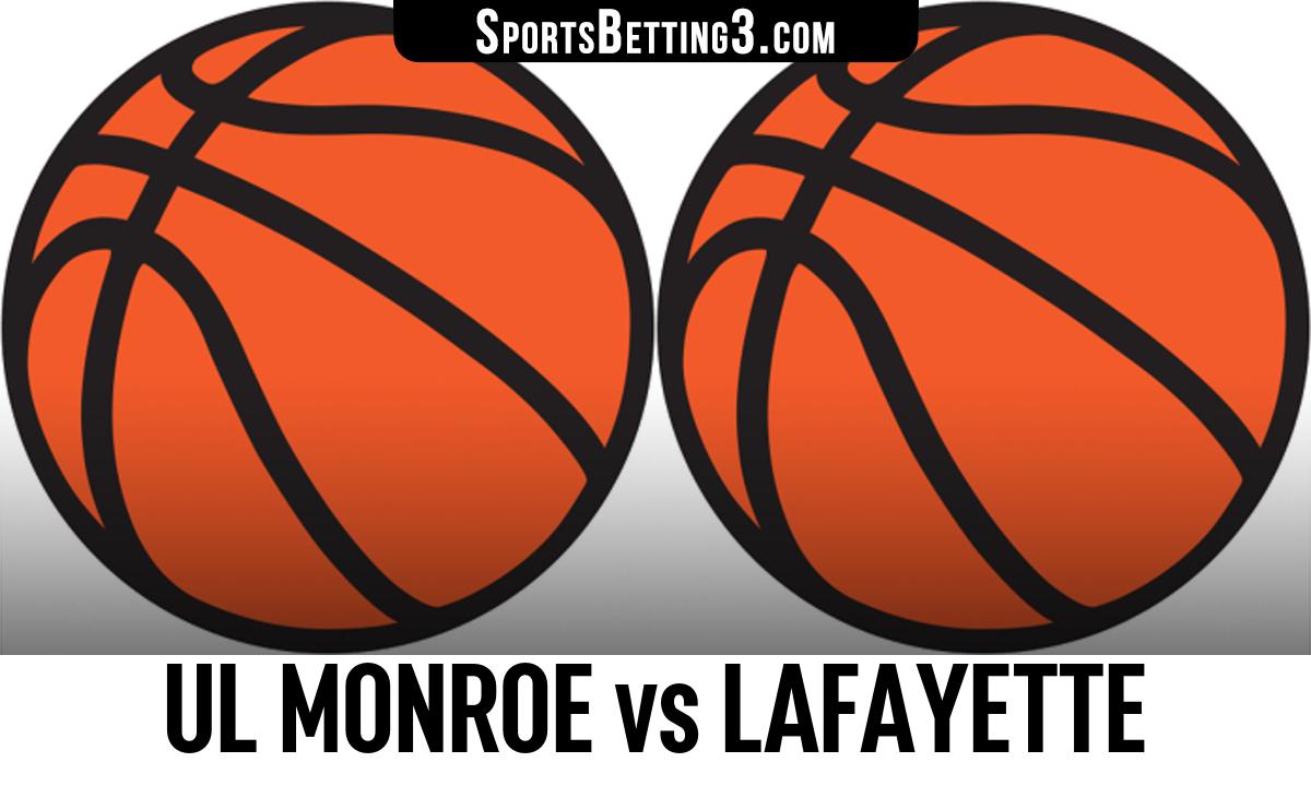 UL Monroe vs Lafayette Betting Odds
