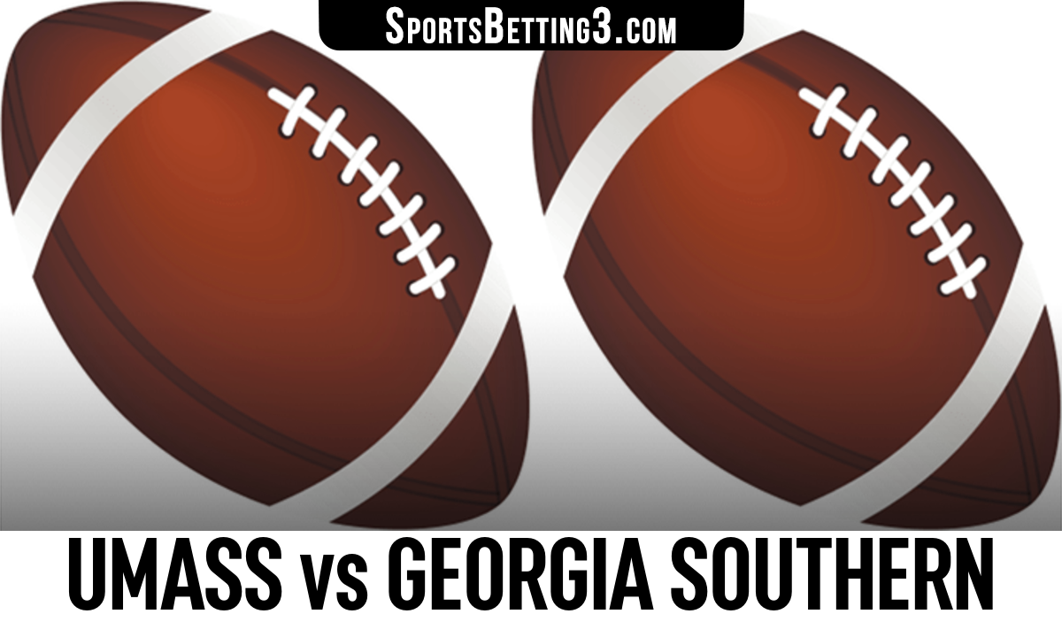 UMass vs Georgia Southern Betting Odds