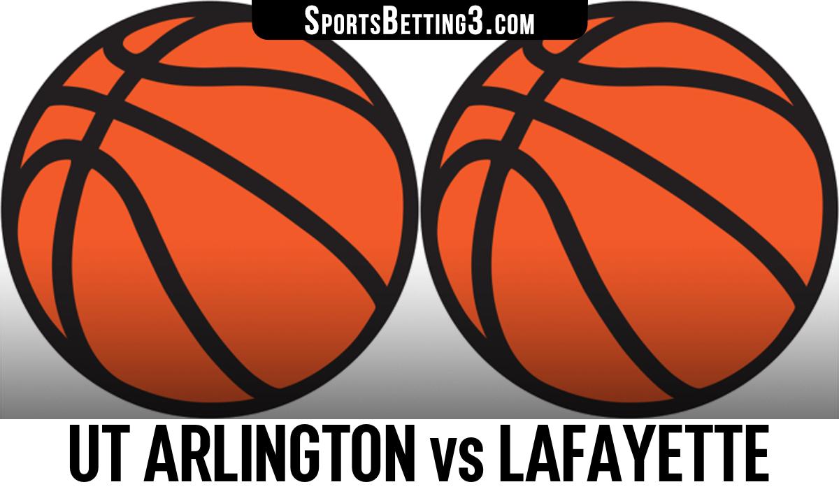 UT Arlington vs Lafayette Betting Odds