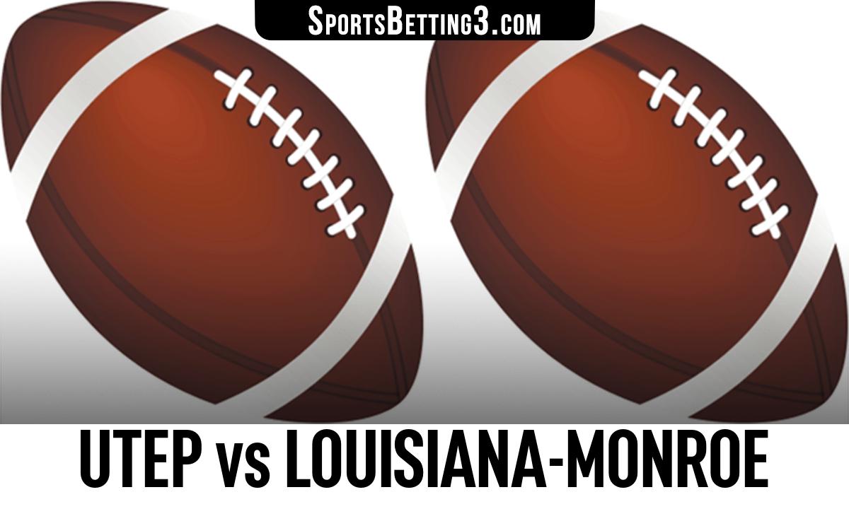 UTEP vs Louisiana-Monroe Betting Odds