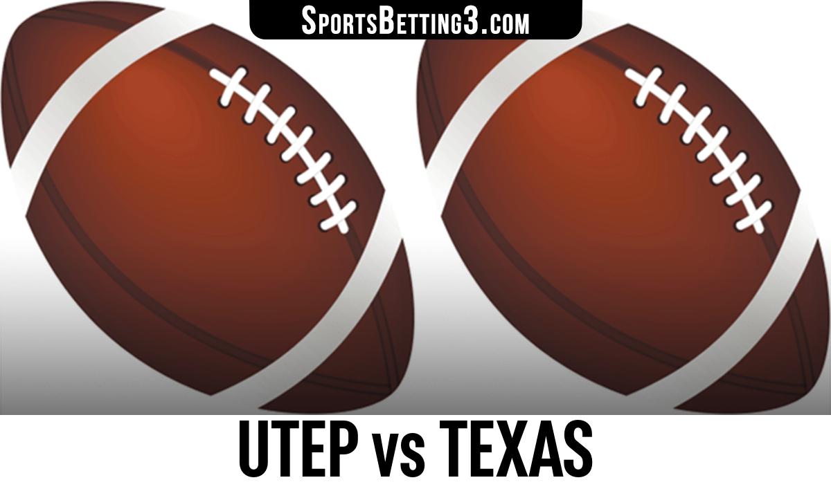UTEP vs Texas Betting Odds