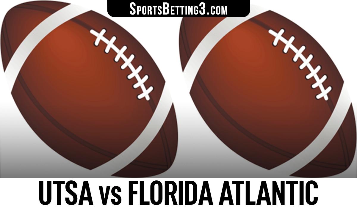 UTSA vs Florida Atlantic Betting Odds