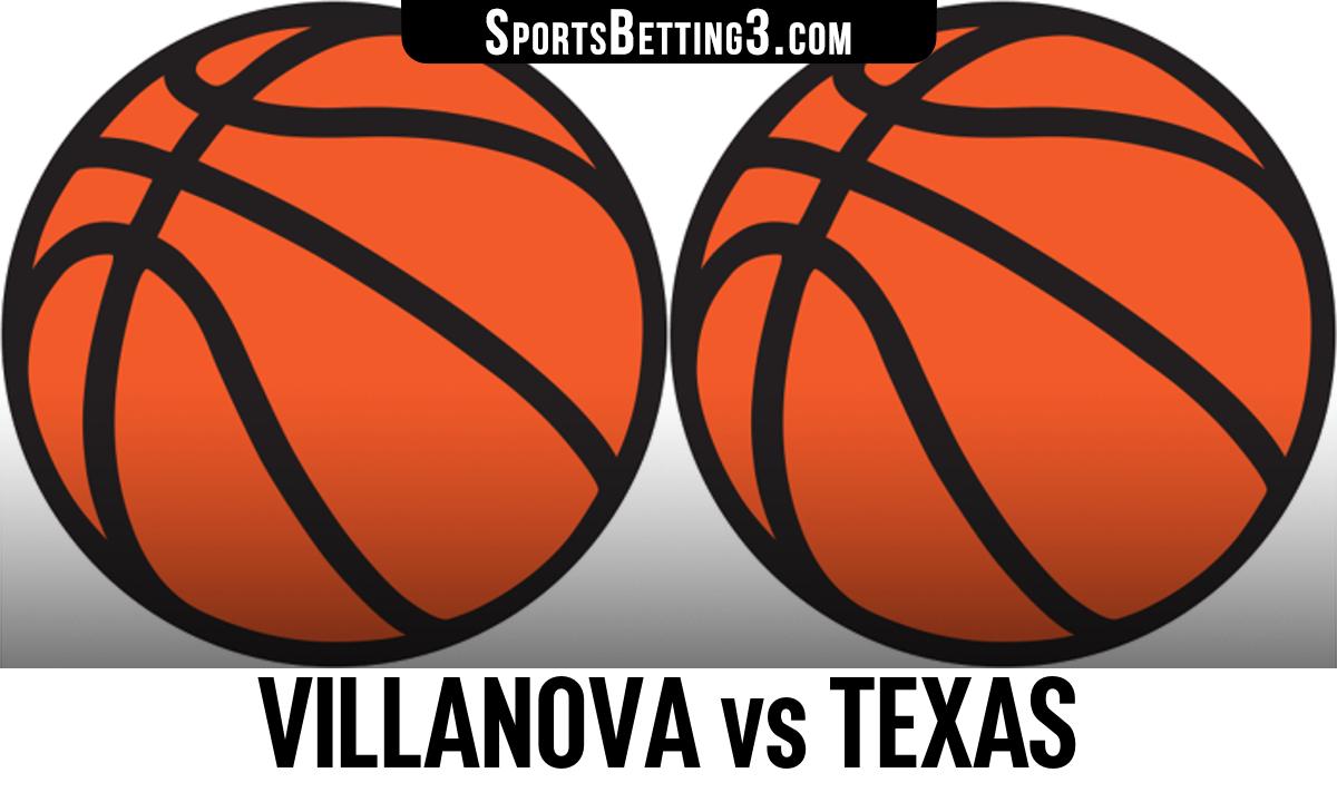 Villanova vs Texas Betting Odds