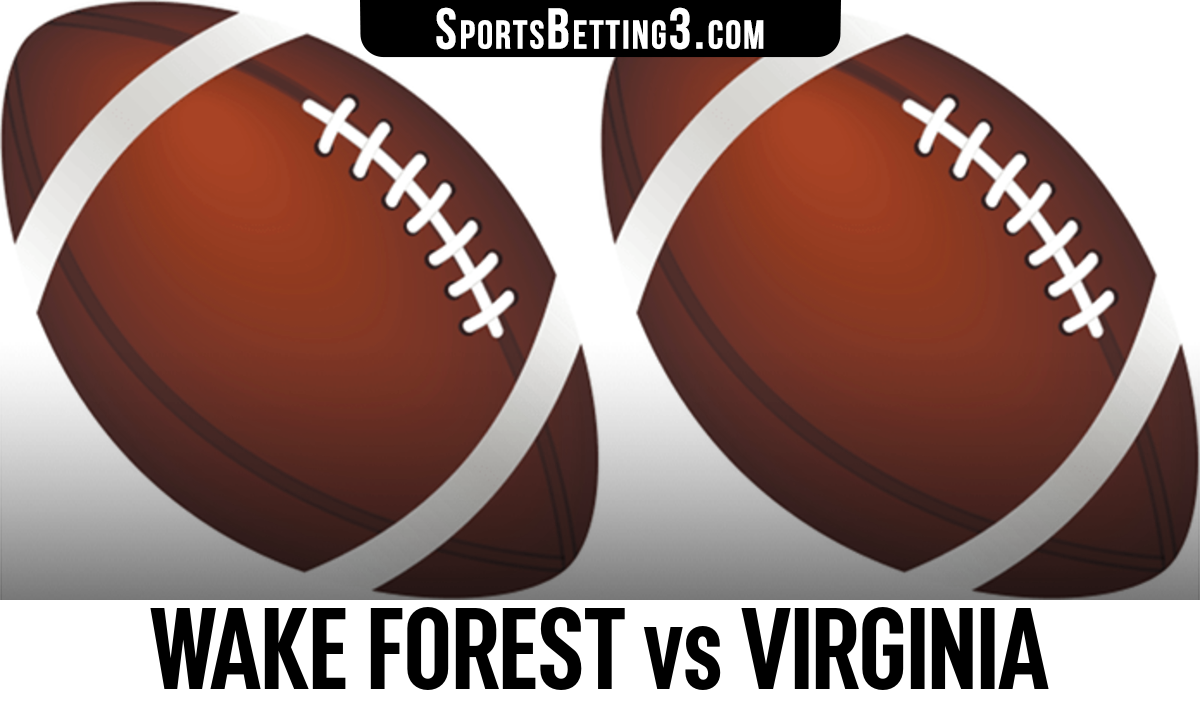 Wake Forest vs Virginia Betting Odds