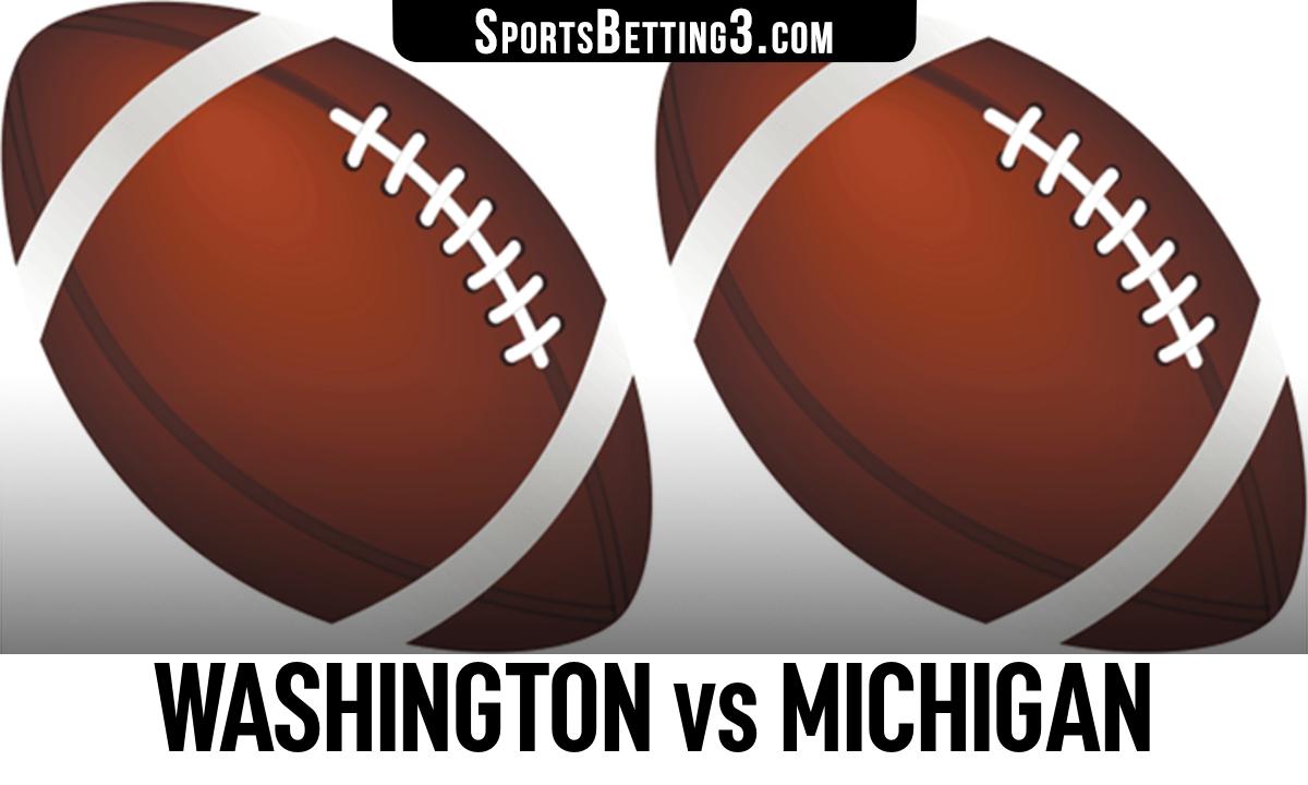 Washington vs Michigan Betting Odds