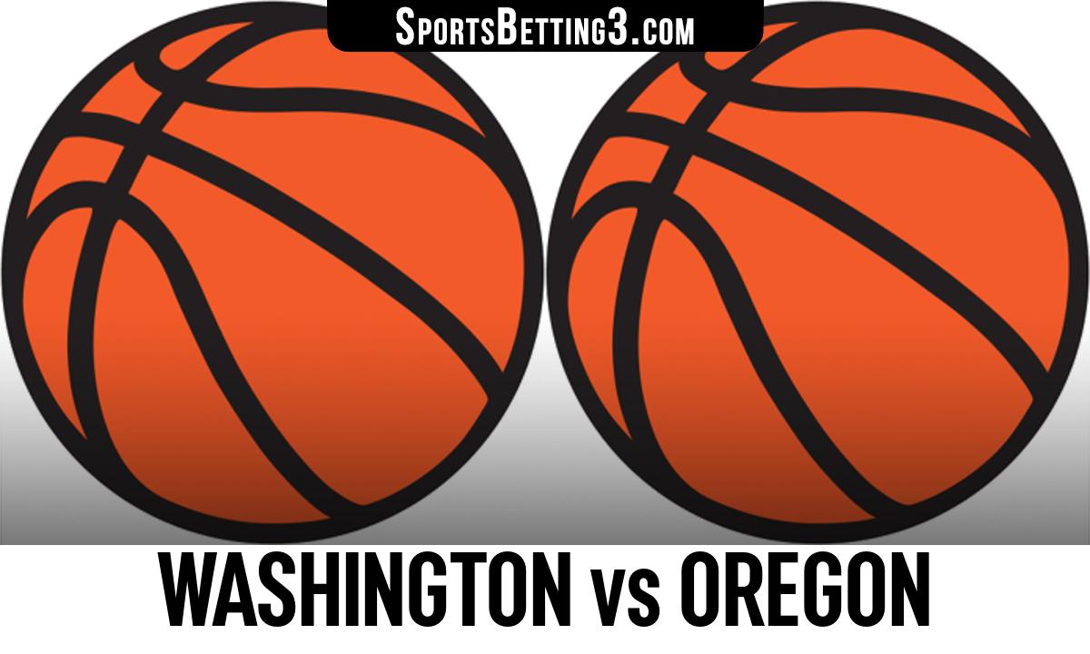 Washington vs Oregon Betting Odds