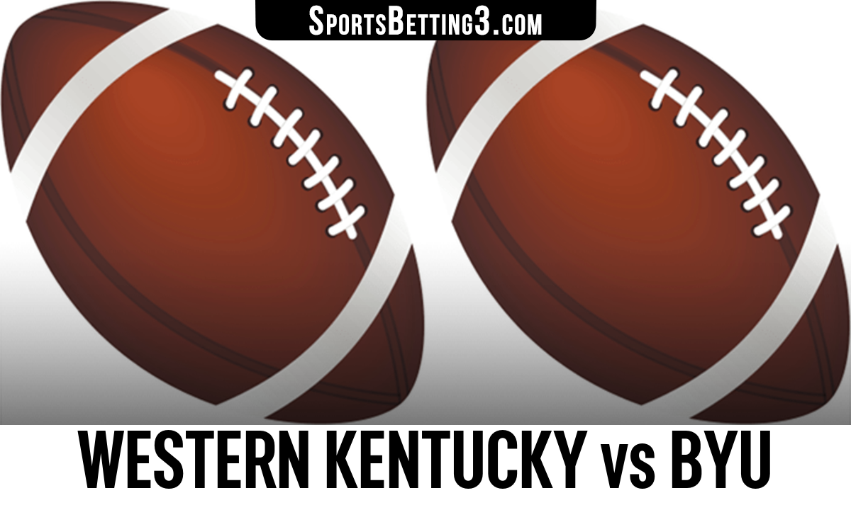 Western Kentucky vs BYU Betting Odds