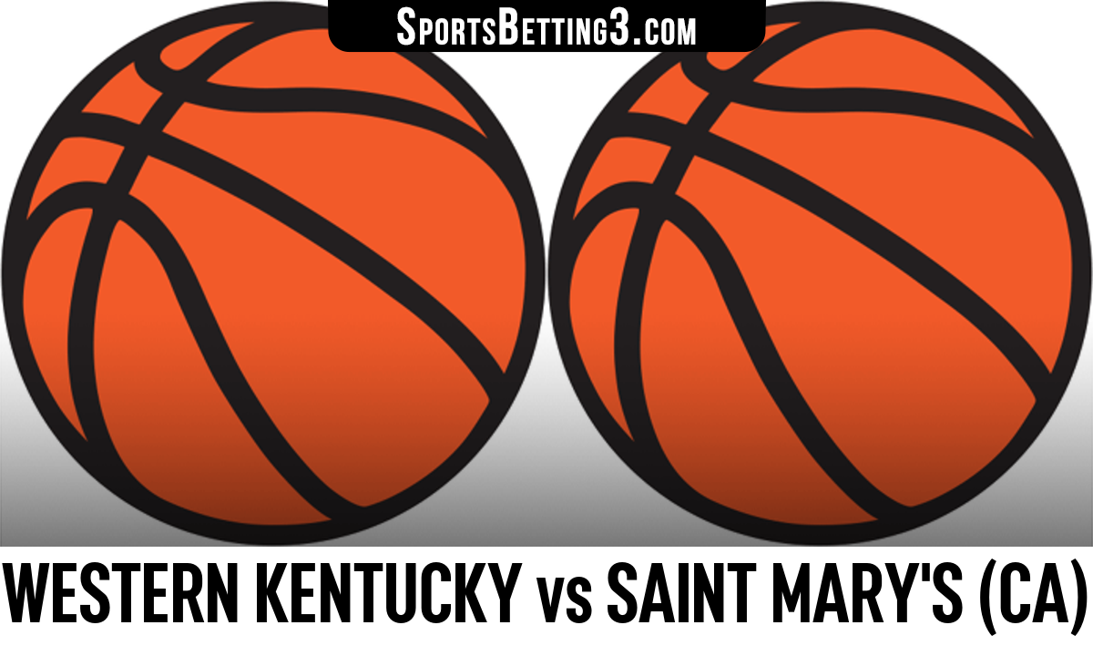 Western Kentucky vs Saint Mary's (CA) Betting Odds