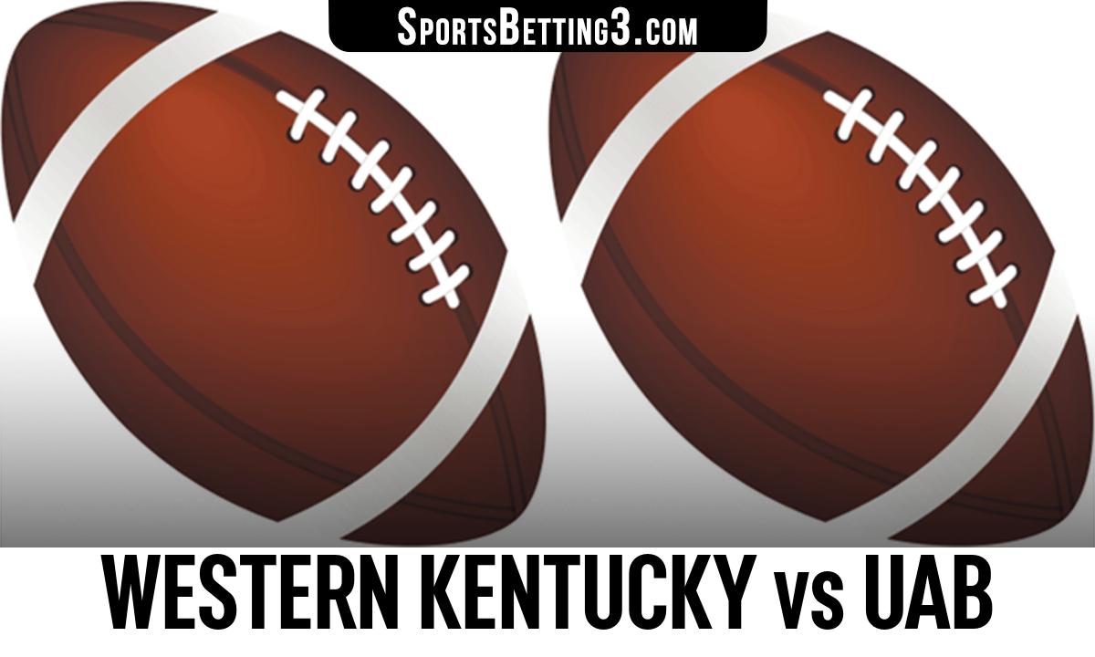 Western Kentucky vs UAB Betting Odds