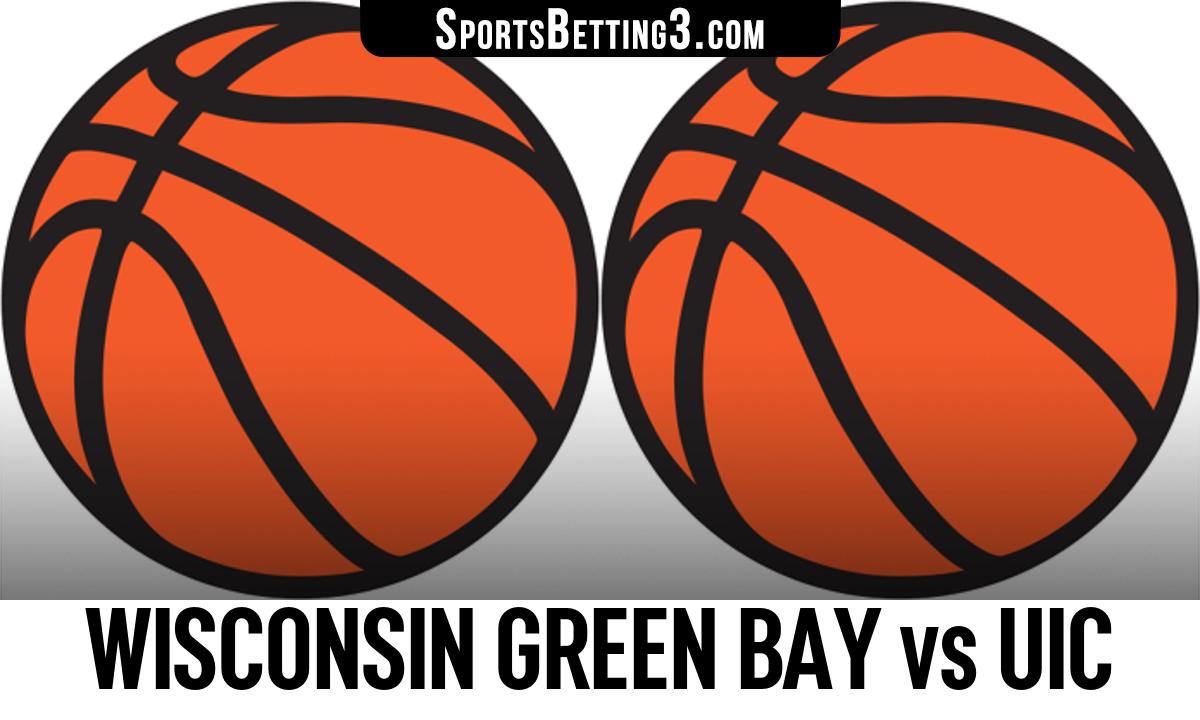 Wisconsin Green Bay vs UIC Betting Odds