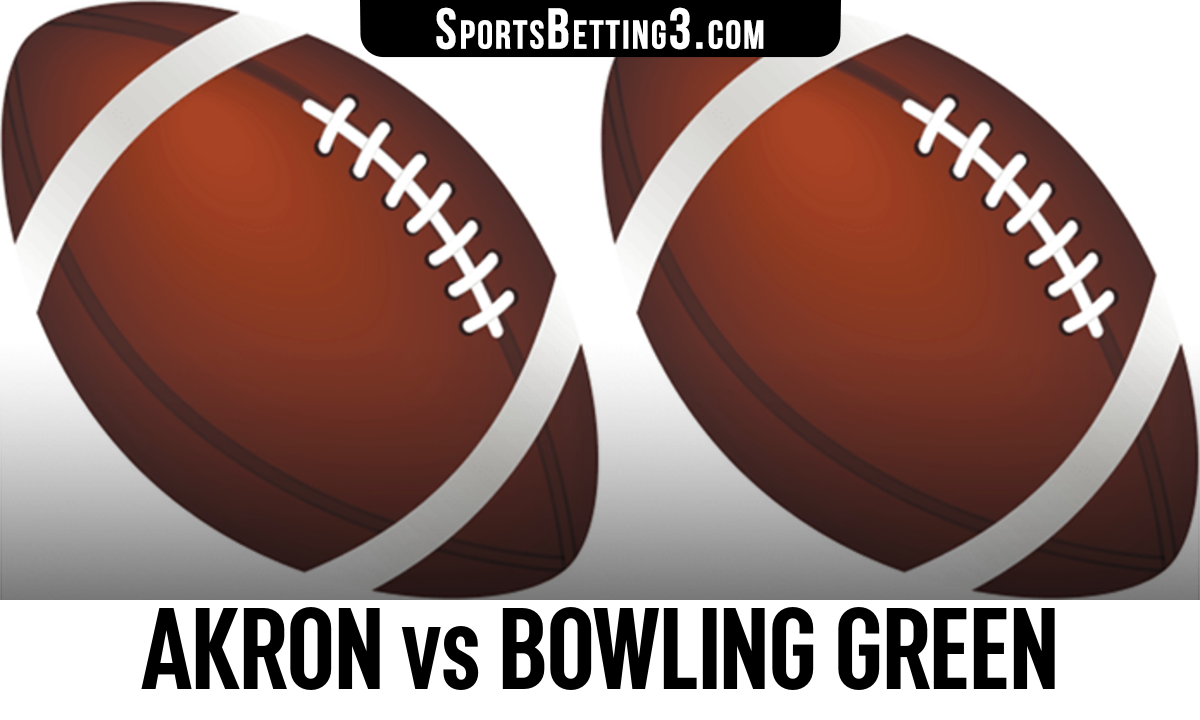 Akron vs Bowling Green Betting Odds