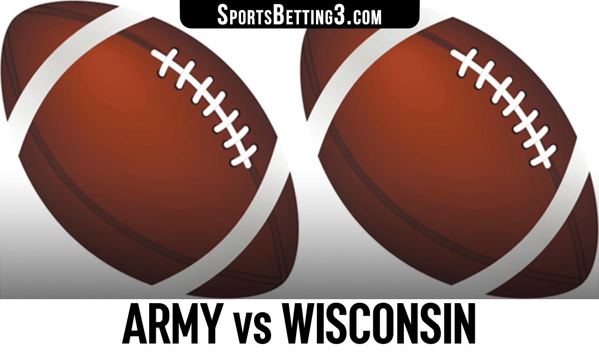 Army vs Wisconsin Betting Odds