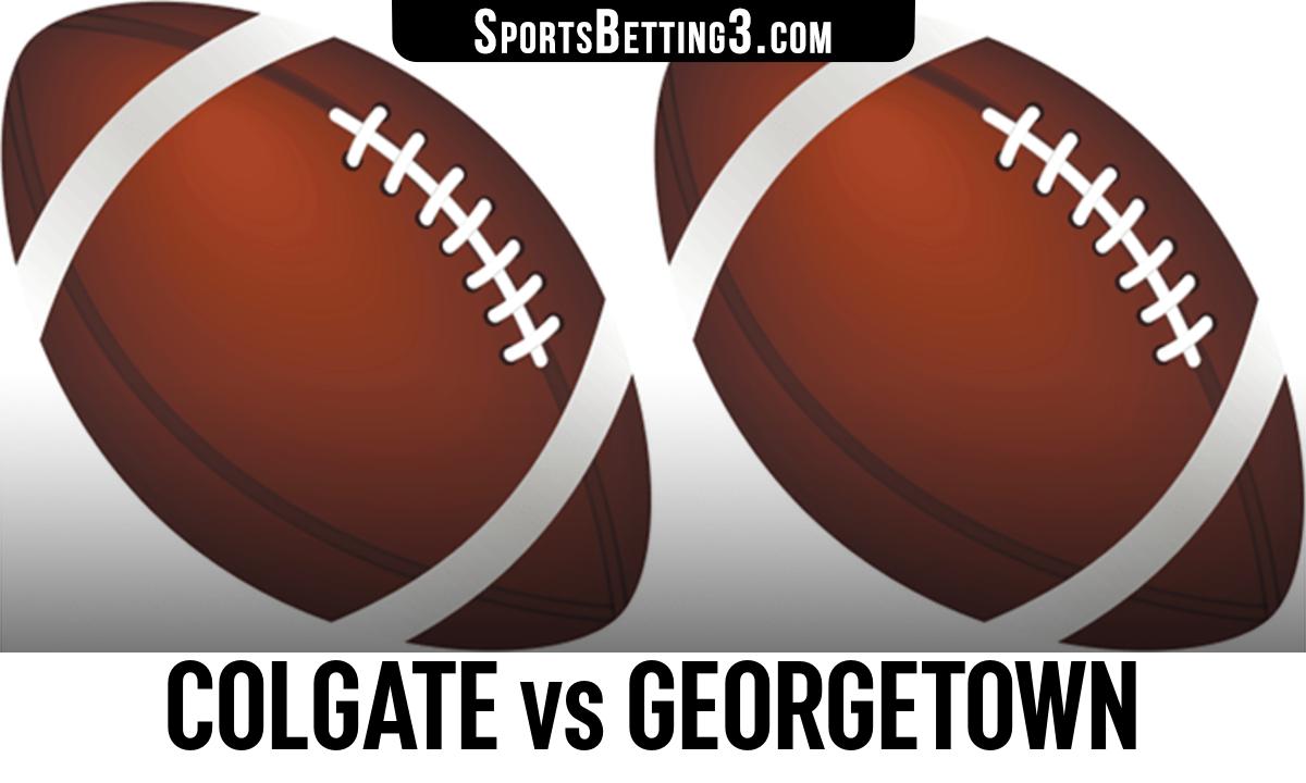 Colgate vs Georgetown Betting Odds