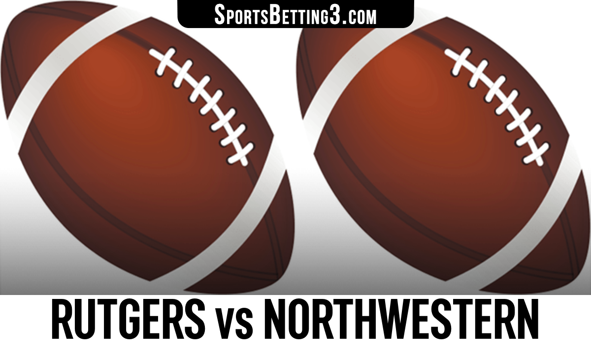 Rutgers vs Northwestern Betting Odds