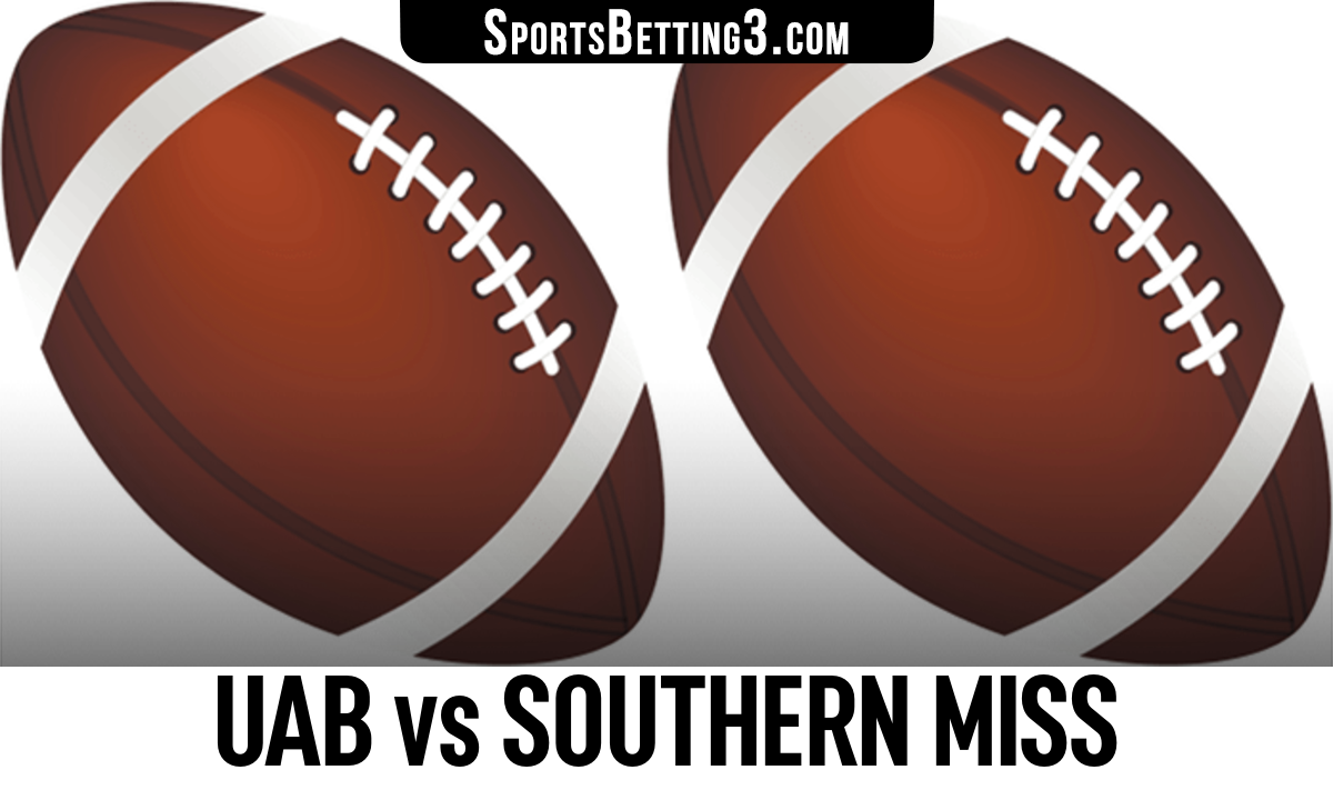 UAB vs Southern Miss Betting Odds