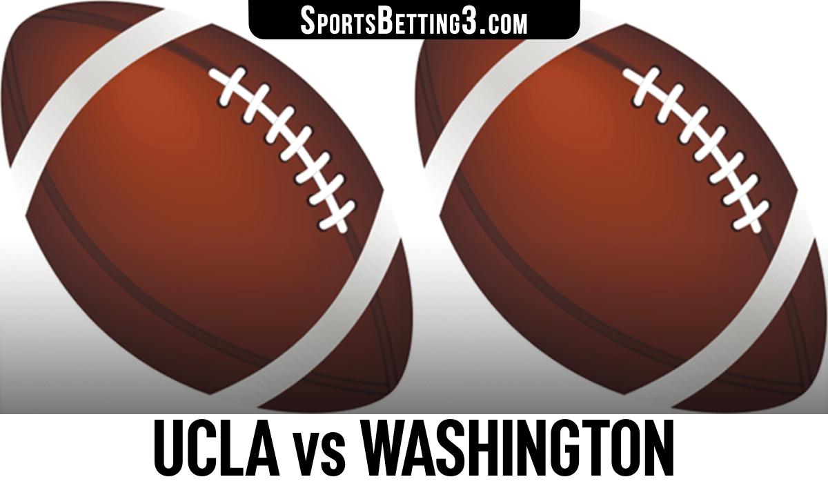 UCLA vs Washington Betting Odds