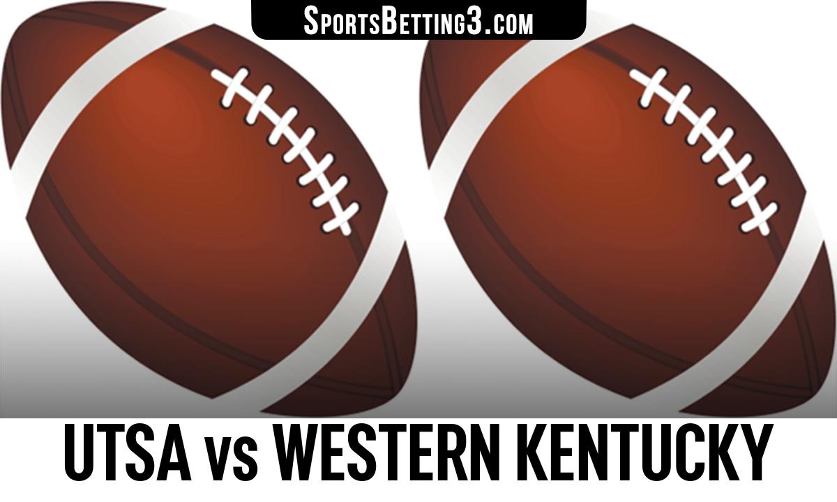 UTSA vs Western Kentucky Betting Odds